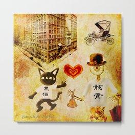 Monsieur Bone,Whim et la cloche Metal Print
