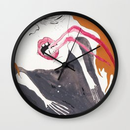 Her Coma Wall Clock