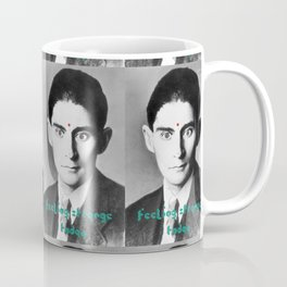 Kafka - feeling strange today Coffee Mug