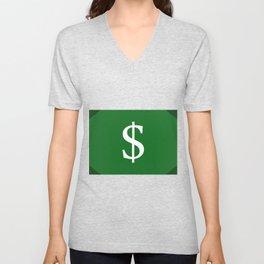 money Unisex V-Neck
