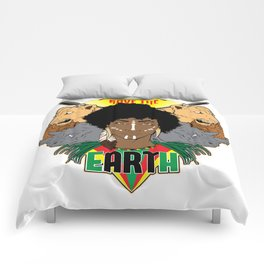 Save the eARTh (Africa) Comforters