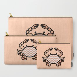 Rose Crab Welcome  Carry-All Pouch