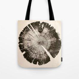 Wood texture, wood, wood cut, geometric shapes Tote Bag