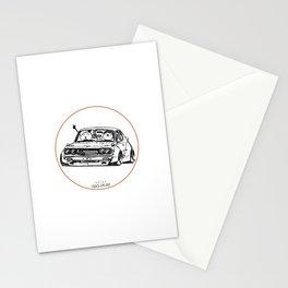 Crazy Car Art 0006 Stationery Cards