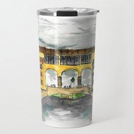 Florence Ponte Vecchio Travel Mug