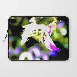 Bee in purple Laptop Sleeve