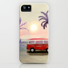 Beach Van iPhone Case