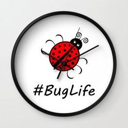#BugLife (Ladybug) Wall Clock