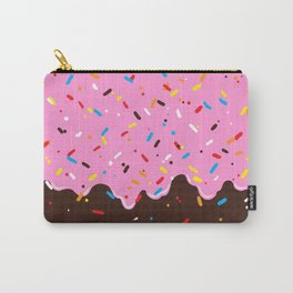 Sweet Pink Chocolate Treat Carry-All Pouch