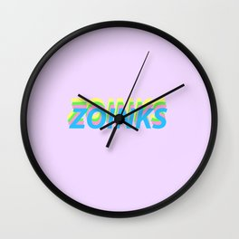 Zoinks Wall Clock