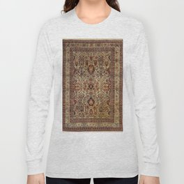 Lavar Kirman Southeast Persian Rug Print Long Sleeve T-shirt