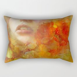 Garden of the Delights Rectangular Pillow