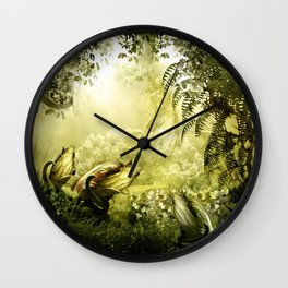 """""""Catch (Forest)"""" Wall Clock"""