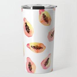 Papaya in love Travel Mug