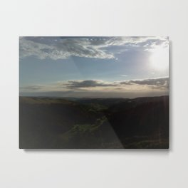 Don't Cry For Me Aberystwyth Metal Print