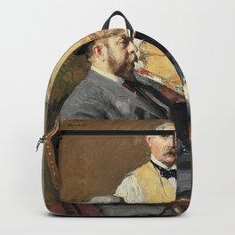 In the Studio - Julius Garibaldi Melchers Backpack