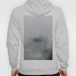 Mysterious moody foggy Forest - Landscape Photography Hoody