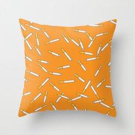 Cigarette Dreams. Throw Pillow