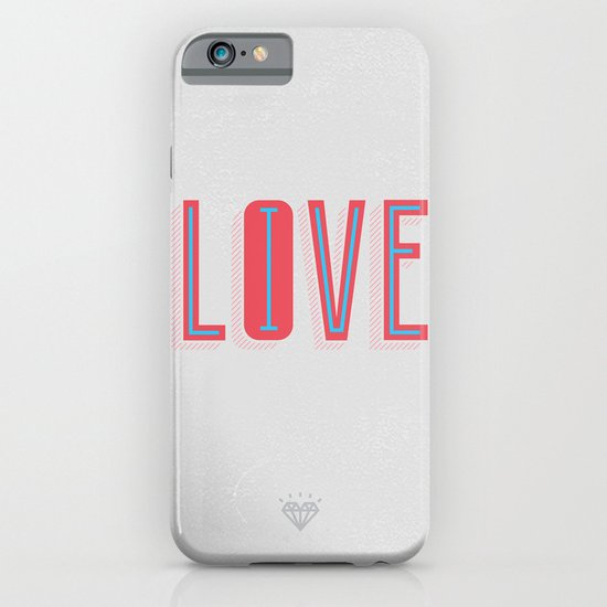 Live & Love iPhone & iPod Case