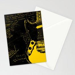 Mustang Guitar - Kurt C. Stationery Cards