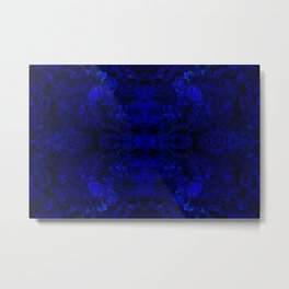 Cosmic peacock geometry VI Metal Print