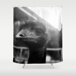emutional connection Shower Curtain