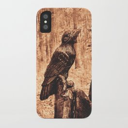 Raven (Slavanic paganism) iPhone Case