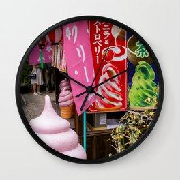 YOSHINO MOUNTAIN, NARA Wall Clock