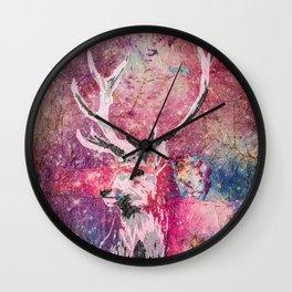 Hercules Rising Wall Clock