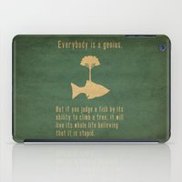quote iPad Cases featuring Einstein by Tracie Andrews