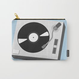 Turntable Illustration Carry-All Pouch