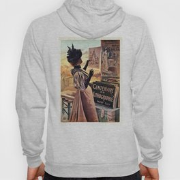 1895 Paris Centennial of Lithography Hoody