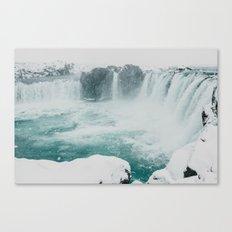 Goðafoss | Edge of the Arctic Canvas Print