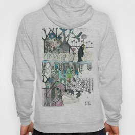 """""""Woman with Penguins"""" Hoody"""