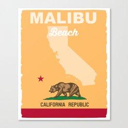 Malibu - California.  Canvas Print