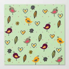 Cute Pattern 2 Canvas Print
