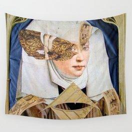 JUNGE FRAU Wall Tapestry