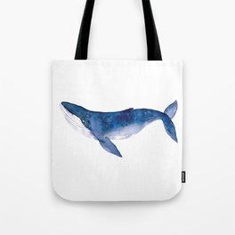 Whale  art Tote Bag