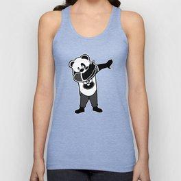 Bearded Panda Dab Unisex Tank Top
