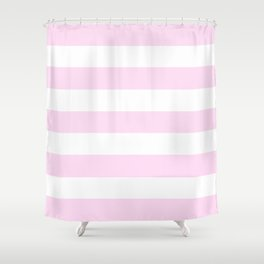 Pink Lace Shower Curtains