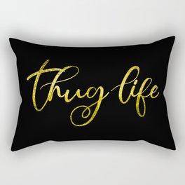 Thug Life Rectangular Pillow
