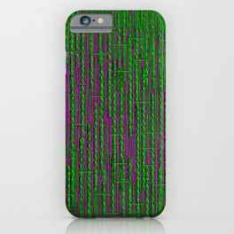 RainForest Pattern iPhone Case