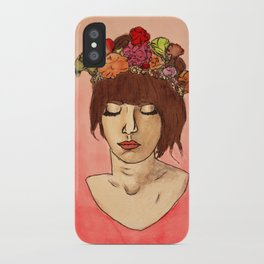 Is She Down To Earth or Just Hipster? iPhone Case
