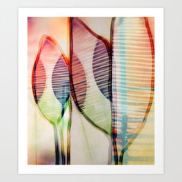 Scent of spring Art Print