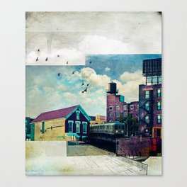 The Rooftop #4 Canvas Print