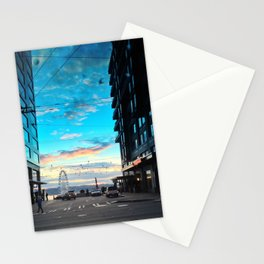 Seattle Summer Sunset Stationery Cards