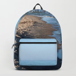 Sand Castle by the Lake Backpack