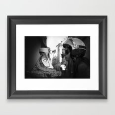 Dream only of me Framed Art Print