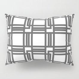 Interlocking Pattern Pillow Sham