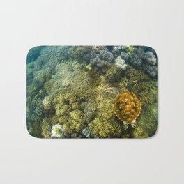 Turtle reef launch Bath Mat